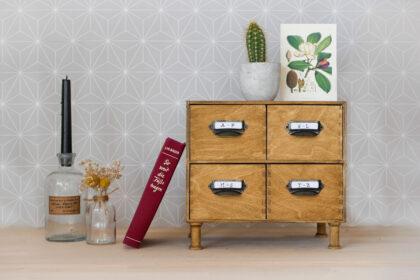 IKEA Moppe Hack im Vintage-Stil