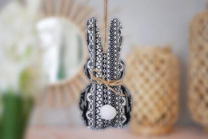 DIY Osterhase aus Stoff für Nähanfänger