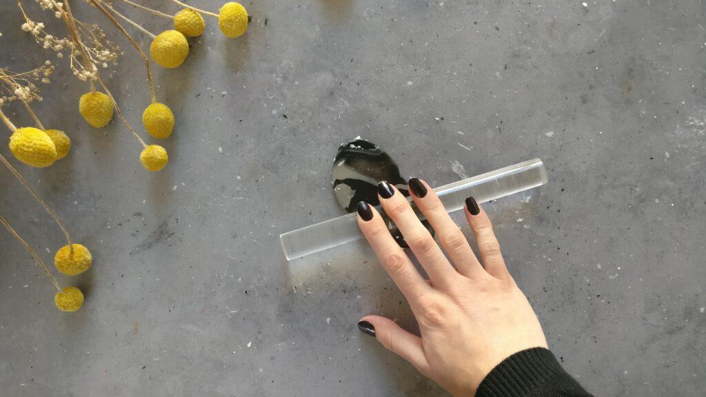 DIY Vasendeckel Schritt 3: Fimo ausrollen