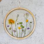 DIY Trockenblumen Bild mit Resin