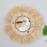 DIY Raffia Sonnenspiegel