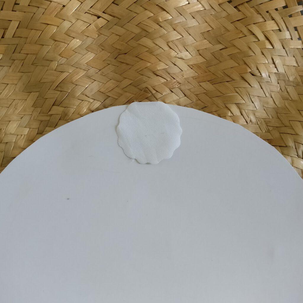 Upcycling Sonnenspiegel Schritt 6: Aufhängung anbringen